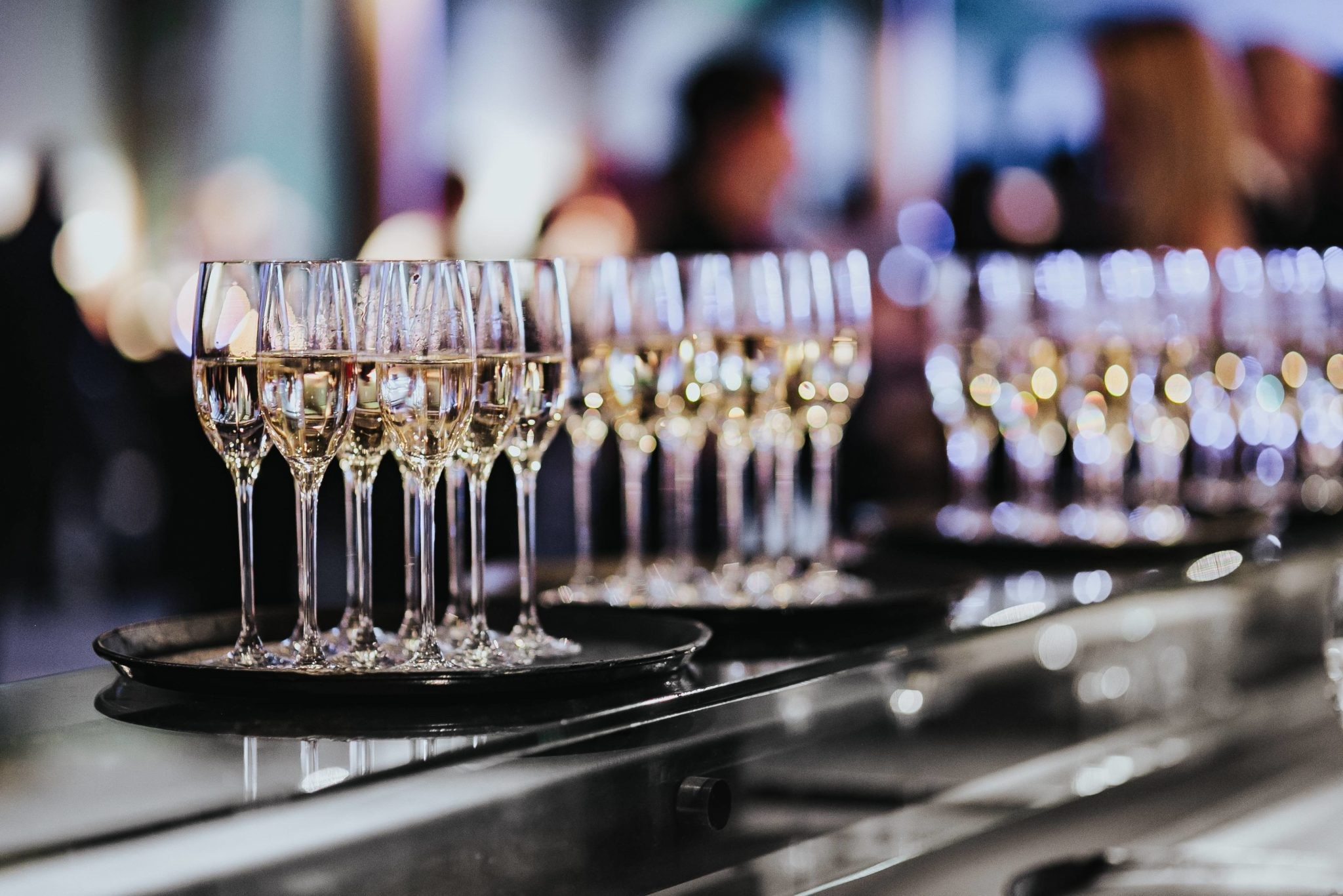 Events Section Hero - Champagne Bar